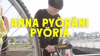 Anna pyöräni pyöriä | Gutsy Go Oulu Keskusta