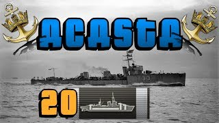 20 Citadel Acasta Game || World of Warships