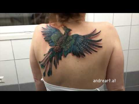 Flying Phoenix Tattoo ORIGINAL VIDEO!