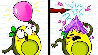 Prank Wars Boys Vs Girls - Cartoons