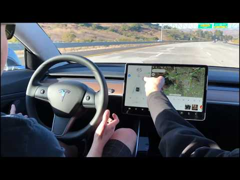 First Drive in the Tesla Model 3 in 4K