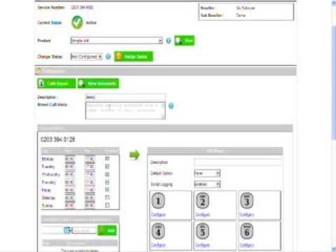 Hosted IVR (Interactive Voice Response) - How to set one up using our online management tool.