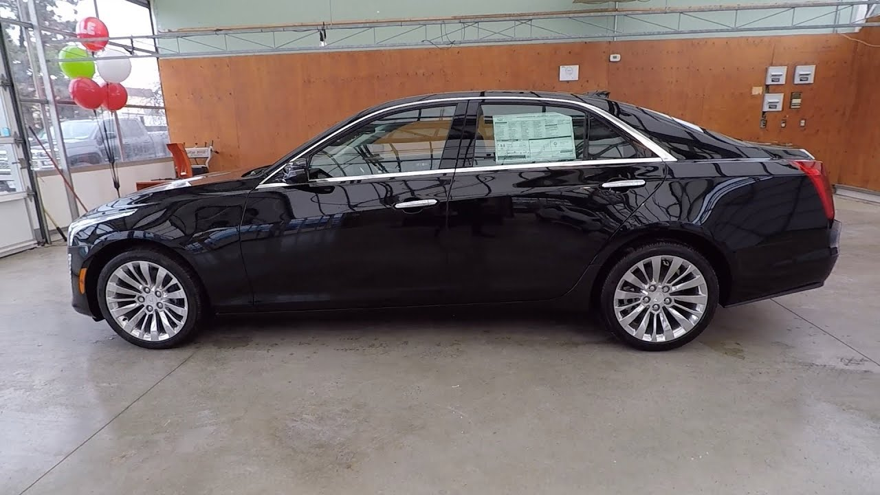 2018 Cadillac Cts 2 0l Turbo Awd Luxury Black Raven Youtube