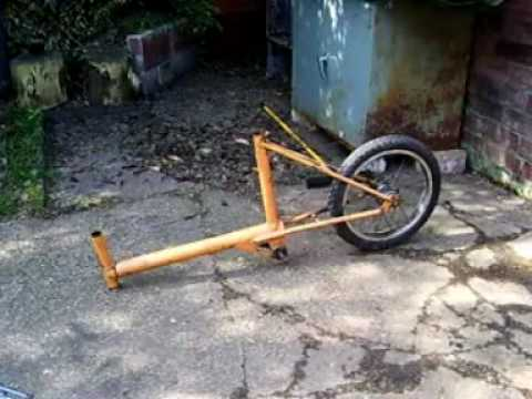 Bicycle Sidecar and Trailer Build
