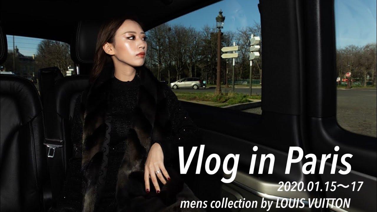 ~木下春奈~【VLOG in paris】louisvuitton fashionshowに密着!parisおすすめレストランなども💓