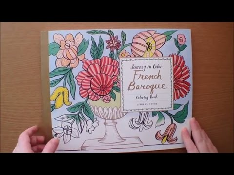 Journey in Color: French Baroque Coloring Book by Molly Hatch ...