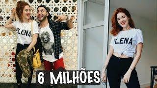 ANA CLARA E MAHMOUD comemora em LIVE 6 MILHÕES de seguidores...