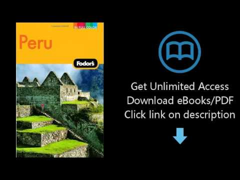 Download Fodor's Peru, 3rd Edition (Full-color Travel Guide) PDF