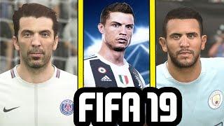 FIFA 19 Career Mode - STARHEAD TRANSFERS (Ronaldo, Shaqiri, Buffon, Mahrez & More)