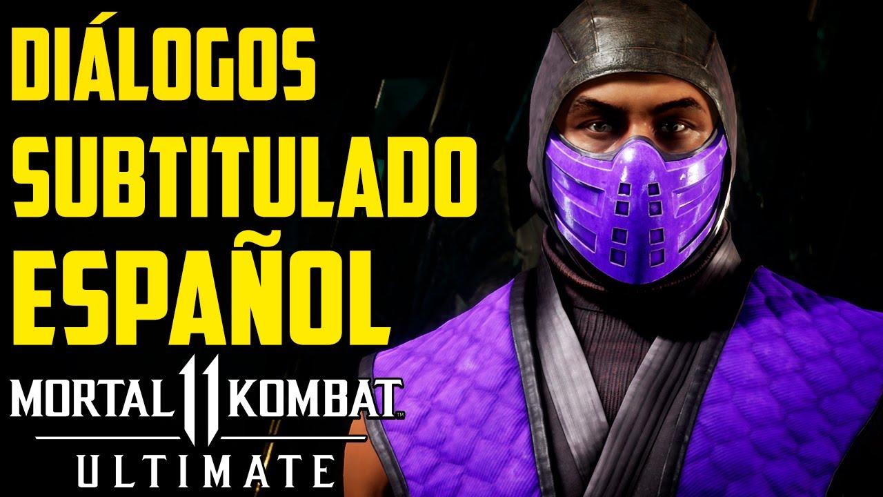 Mortal Kombat 11 Ultimate | Rain | Diálogos Subtitulado Español |