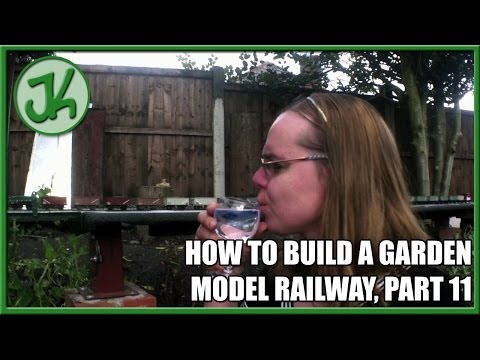 How To Build A Garden Model Railway, part 11 – Enjoying it!