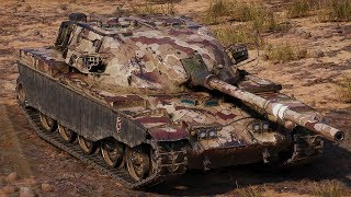World of Tanks T95/FV4201 Chieftain - 7 Kills 12,2K Damage