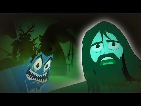SAMURAI JACK | The Horseman and Ghost Jack AREN'T Hallucinations! Jack's Imagination Brought to LIFE
