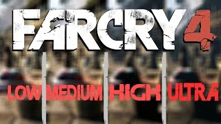 Far Cry 4 - Graphics comparison 1080p @60fps