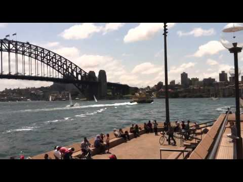 Sydney opera house, harbor and skyline