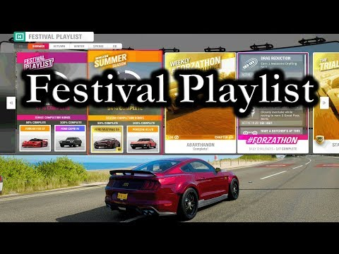 "Forza Horizon 4 "" Festival Playlist With Weekly Challenges And New Cars"" thumbnail"