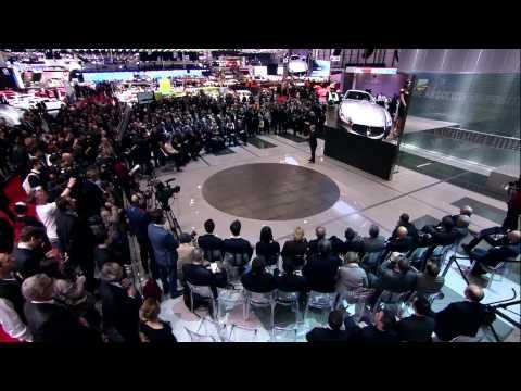 Maserati Press Conference at Geneva Motor Show 2014