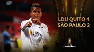LDU Quito vs. São Paulo [4-2] | RESUMEN | Fase de Grupos | Jornada 4 | Libertadores 2020