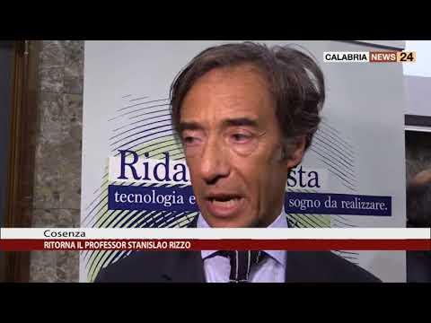 RITORNA A COSENZA IL PROFESSORE STANISLAO RIZZO - YouTube