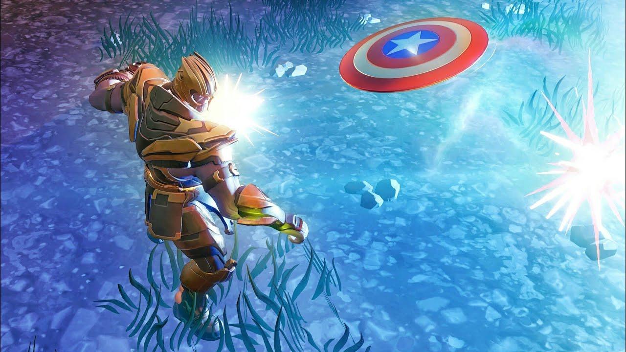 Download Thanos VS Captain America Fortnite Cinematic Short Film | Fortnite Battle Royale X Avengers Endgame