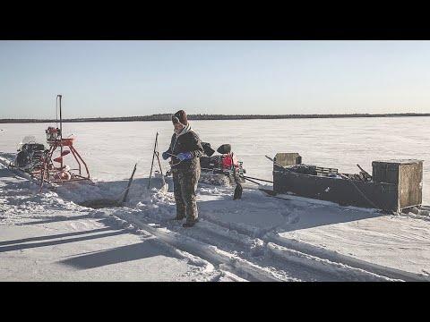 Ice Fishing: Setting Gillnets In Saskatchewan