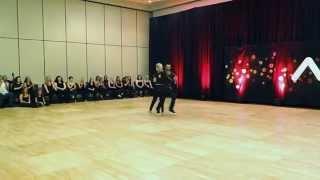 Midwest Westie Fest 2014 Pro Show - Tony Dovolani - Peta Murgatroyd