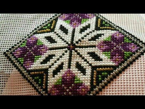 New cross stitch design / dosuti table design / embroidery design / dosuti border design