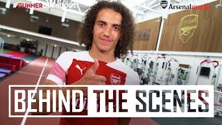 Matteo Guendouzi's first day at Arsenal | Exclusive behind the scenes