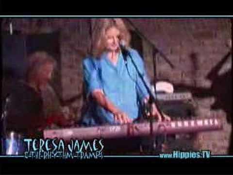 Teresa James & The Rhythm Tramps - Live on Hippies.TV
