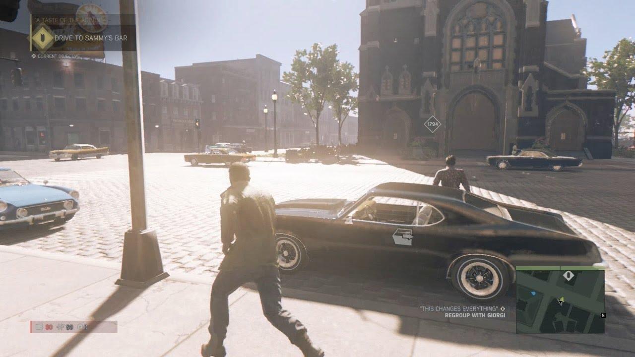 Mafia Xbox One Free Roam Gameplay Driving Boats Stealing