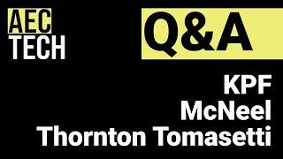 AECtech 2021 UK   Q&A Session 2