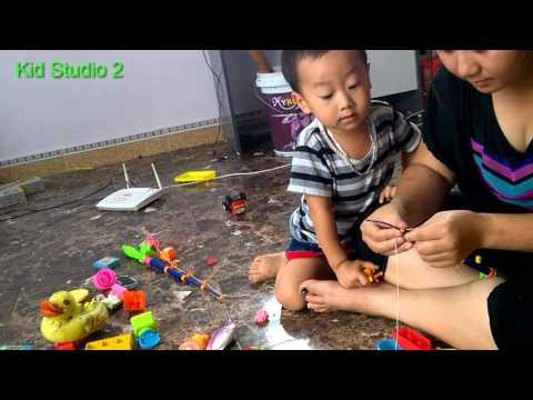 Bé Khỏe Bé Ngoan - nhạc thiếu nhi và đồ chơi siêu nhân - kidstudio2