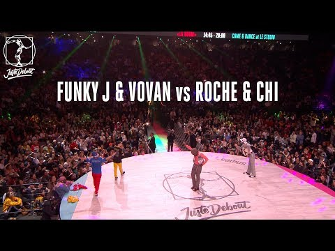 Locking battle quarter final : Roche & Chi...