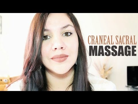 ASMR Cranial Sacral Therapy Massage (Spanish Whispering Role Play)