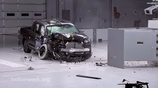 Pickup Truck Crash Testing and So Long to the Ford Taurus | Motor News
