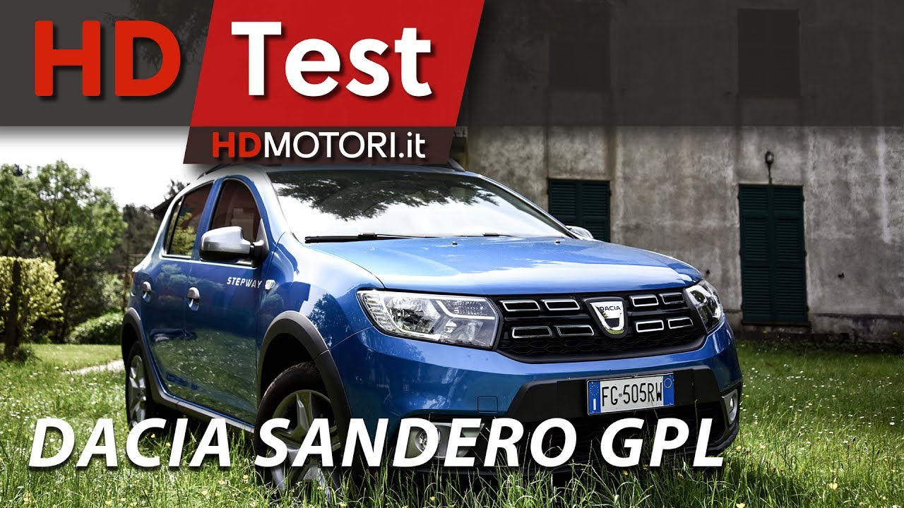 dacia sandero stepway 2017 gpl il non plus ultra del low cost hdtest youtube. Black Bedroom Furniture Sets. Home Design Ideas