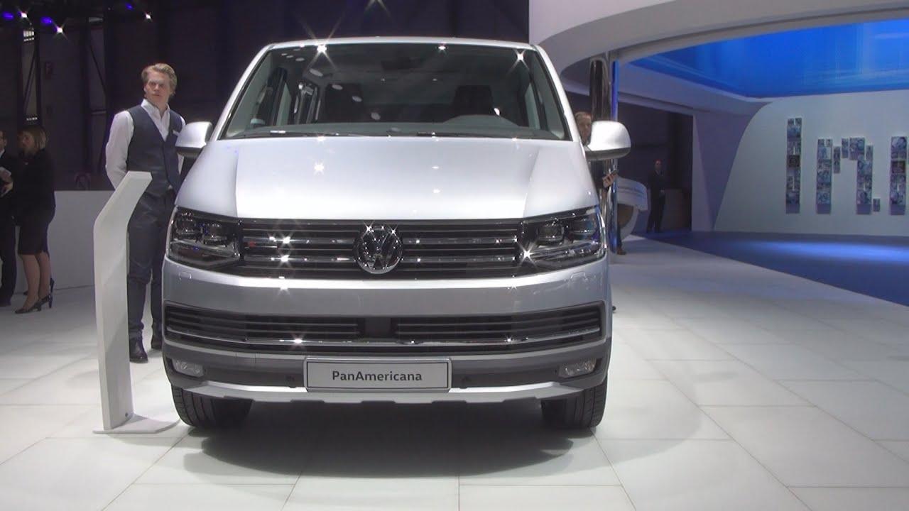 volkswagen transporter t6 multivan panamericana 2 0 tdi 4motion 2016 exterior and interior in. Black Bedroom Furniture Sets. Home Design Ideas