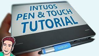 How Use Wacom Intuos Pen And Touch Tutorial