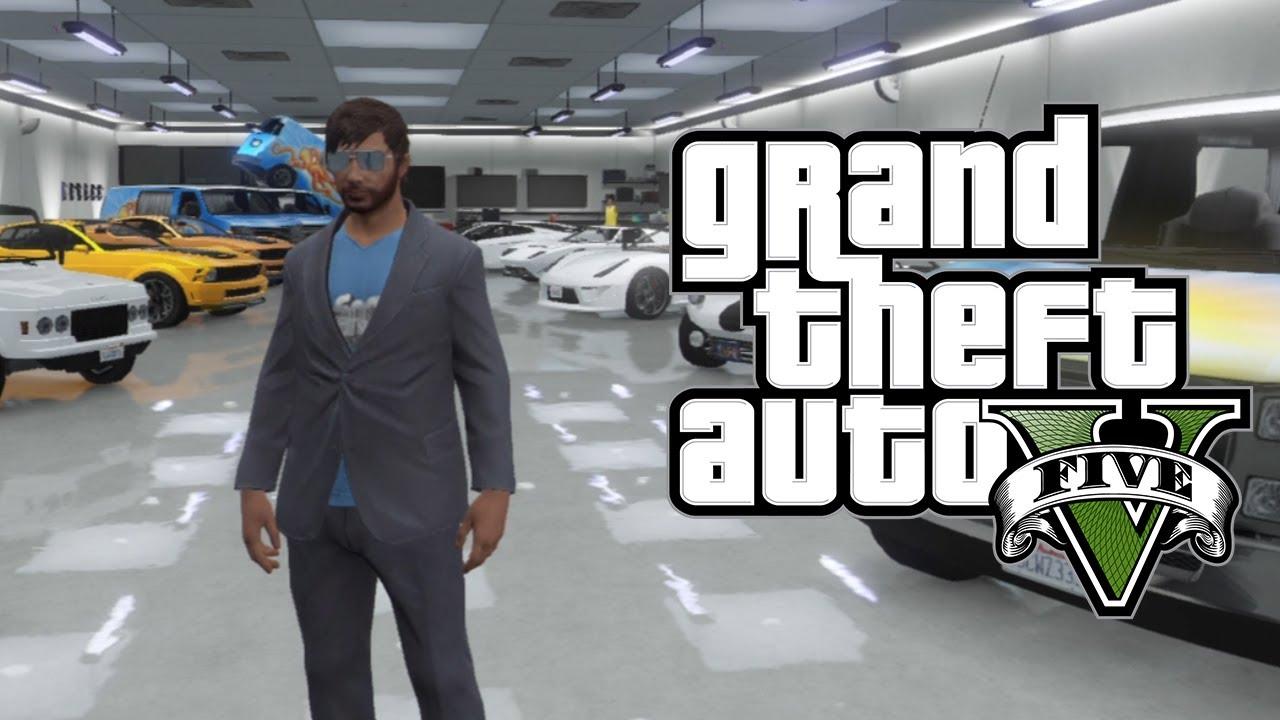Gta 5 online unlimited garage space store more than for Garajes gta v online