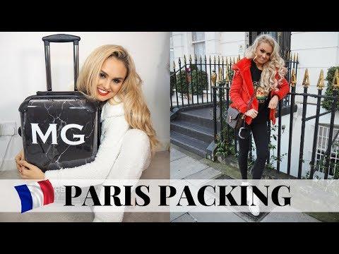 Packing for Paris // What I am wearing // Paris Trip 2018