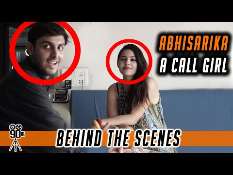 Abhisarika - A Call Girl | Best Hindi Short Film | BTS | Watch Behind The Scenes  | 9D Production