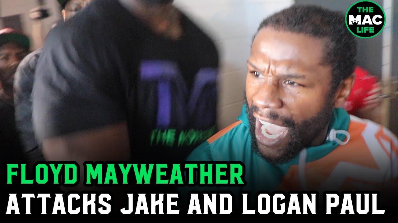 Jake Paul's hat stunt seriously enraged Floyd Mayweather: 'I have ...