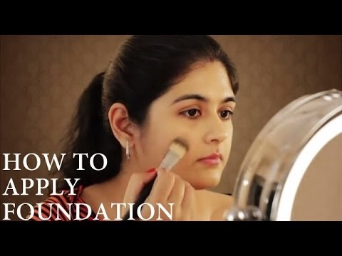 How to Apply Foundation on Indian skin - YouTube