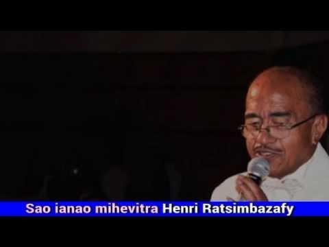 Henri Ratsimbazafy Sao ianao mihevitra