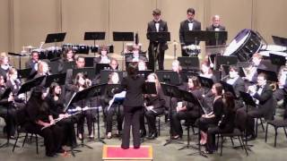 """On the Edge of Tomorrow"" by Michael Sweeney.  Lamar University CONCERT BAND, Lamarissimo 2009."