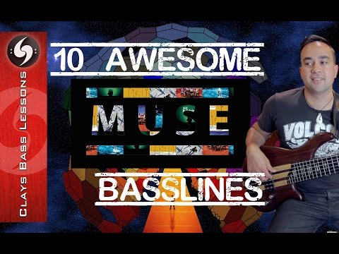 10 AWESOME MUSE BASS LINES!!