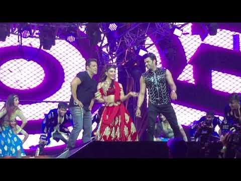 Salman Khan and Jacqueline perform Munni Badnaam Hui