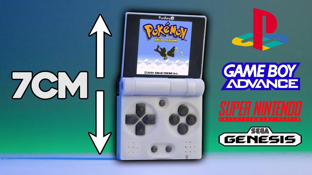 World's Smallest WORKING Gameboy Advance SP