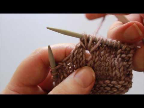Technique Tutorial : how to draw a loop through your knitting