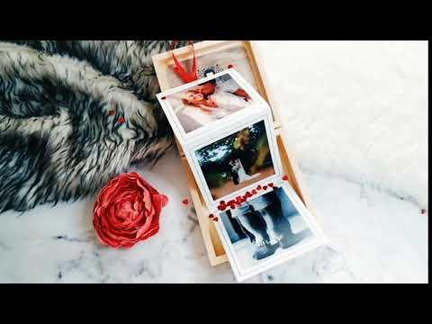 Caixa de memórias A nossa história com Flipbook